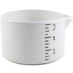 Small White Ceramic Multi-Purpose Salt Cellar
