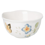 Lenox Butterfly Meadow Porcelain Dessert Bowl