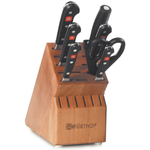 Wusthof Classic High Carbon Stainless Steel 8 Piece Knife Block Set