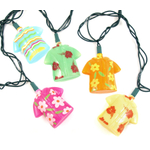 Hawaiian Shirt Party String Light Set for Indoor/Outdoor