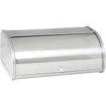 Anchor Hocking Brushed Stainless Steel Fingerprint-Proof Bread Box