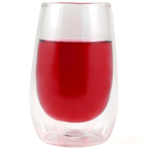 Orka Double Walled 3.5 Ounce Glass Tumblers, Set of 3