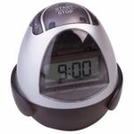 Orka Black Digital Egg Timer & Clock Magnetic