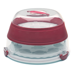 Progressive Red Collapsible Cupcake and Cake Carrier