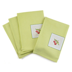Fruity Cherries Cotton Dinner Napkins 12 Piece Set