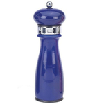William Bounds Pro Empire Blue Stainless Steel Sea Salt Mill