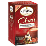 Twinings French Vanilla Chai Tea, 20 Count