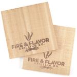 """Fire & Flavor Alder 6"""" Mini Grilling Plank, Set of 2"""