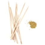 Fire & Flavor Skewers & Spice Set with Mustard Rub Packet