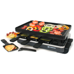 Swissmar Classic Raclette with Reversible Cast Iron Grill Plate