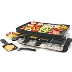 Swissmar Stelvio Stainless Steel 8 Person Raclette Indoor Party Grill