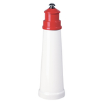 Fletcher's Mill Gourmet Lighthouse Red Salt Mill, 9 Inch
