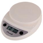 Escali Primo White Digital Scale 11 lb / 5 Kg