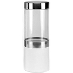 Silvermark White Porcelain Transparent Herb Storage Jar