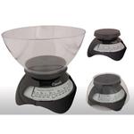 Escali Estilo Black Spring Dial Scale 6.6 lb / 3 Kg