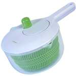Progressive White and Green Salad Washing Spinner