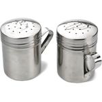 RSVP Endurance Stainless Steel Salt and Pepper Shaker Set