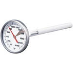 Admetior White Instant Read Coffee Thermometer, 1.5 Inch