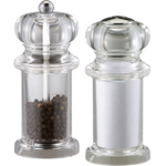 Fletcher's Mill Gourmet Acrylic Salt Shaker And Pepper Mill Set