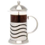 La Cafetiere Wave Stainless Steel French Press 8 Cup