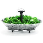 Trudeau Stainless Steel Vegetable Steamer 11 Inch