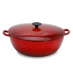 Le Creuset Cherry Enameled Cast Iron Soup Pot, 2.75 Quart