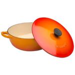 Le Creuset Flame Enameled Cast Iron Soup Pot, 2.75 Quart