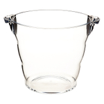 Clear Acrylic Ice Bucket Wine or Drinks Cooler