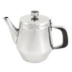 Asian Restaurant Style Stainless Steel 32 oz Teapot
