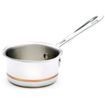 All-Clad Copper-Core 18/10 Stainless Steel Butter Warmer, 1.5 Quart