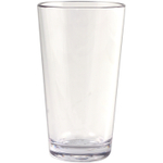 Strahl Design+ Contemporary Clear 16 Ounce Mixing Glass