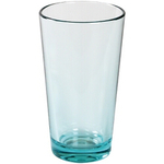 Strahl Design+ Contemporary Glacier Blue 16 Ounce Mixing Glass