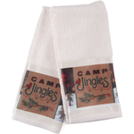 Camp Jingles Fingertip Towel, Set of 4