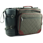 """Baby Boo"" Olive Deluxe Insulated Diaper Bag"