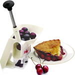 Norpro Deluxe White Cherry Pitter with Clamp