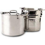 All-Clad Stainless Steel Pasta Pentola With Insert And Lid, 7 Quart