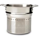 All-Clad Stainless Steel Pasta Strainer, 7 Quart