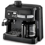DeLonghi Black Combination Espresso and Drip Coffee Maker