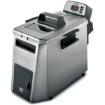 DeLonghi Digital Dual Zone-3 Stainless Steel Electric Fryer, 3 Pound