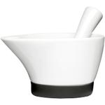 Sagaform White Porcelain Motar and Pestle