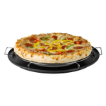 Nifty Pizza Pie Companion Chrome Baking Rack with Integrated Drip Pan, 12.5 Inch