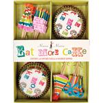 Meri Meri Eat More Cake Cupcake Kit, Makes 24