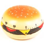Fox Run Analog Cheeseburger Shaped Kitchen Timer