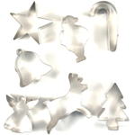 Fox Run Christmas Cookie Cutter Set