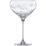 L by Lenox Crystal Floral Bouquet Cocktail Glass