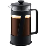 Bodum Crema Black French Press Coffee Maker, 8 Cup