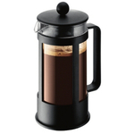 Bodum Kenya Black French Press Coffee Maker, 3 Cup