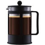 Bodum Kenya Black French Press Coffee Maker, 12 Cup