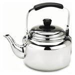 Demeyere Resto Stainless Steel Water Kettle with Lid, 4.5 Quart