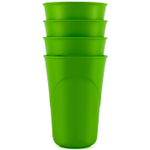 Preserve Eco Friendly 16 Ounce Everyday Cup in Apple Green, Set of 4